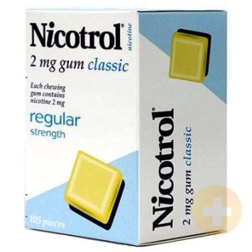 Nicotrol Gum 2mg Classic 105
