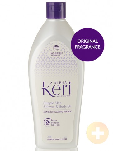 Alpha Keri Supple Skin Shower & Body Oil 400ml