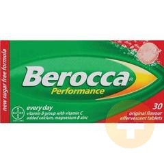 Berocca Performance Original Effervescent Tablets 30