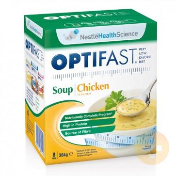 Optifast Weightloss Chicken Soup Powder 8 x 46g