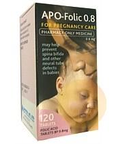 Folic Acid Tablets 0.8mg 120