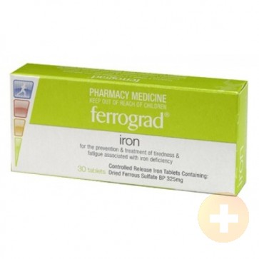 Ferrogradumet Iron Tablets 30