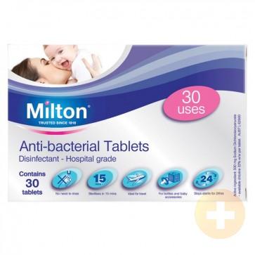 Milton Anti-Bacterial Tablets 30