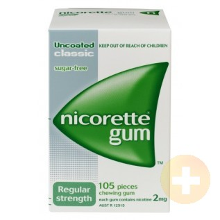 Nicorette Gum Classic 2mg 105