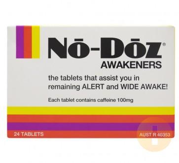 No Doz Awakener Tablets 24