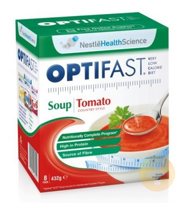 Optifast Weightloss Tomato Soup Powder 8 x 54g
