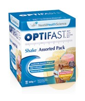 Optifast Weightloss Assorted Milkshake 10x54g Sachets