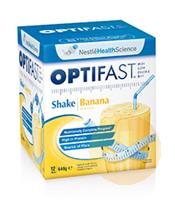 Optifast Weightloss Banana Milkshake 12x54g Sachets