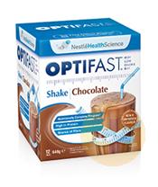 Optifast Weightloss Chocolate Milkshake 12x54g Sachets