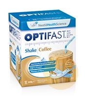 Optifast Weightloss Coffee Milkshake 12x54g Sachets