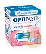 Optifast Weightloss Strawberry Milkshake 12x54g Sachets