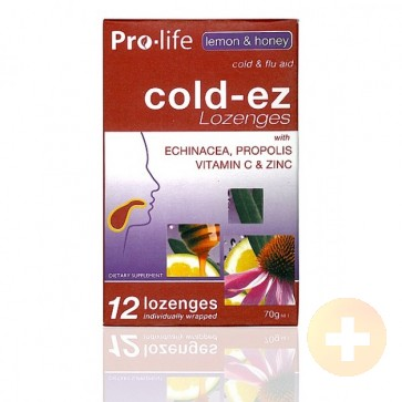 Pro-life Cold-Ez Lozenges 12