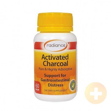 Radiance Activated Charcoal Capsules 60