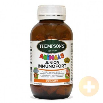 Thompsons Junior Immunofort Tablets 90