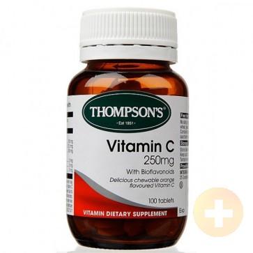 Thompsons Vitamin C 250mg Chewable 100s