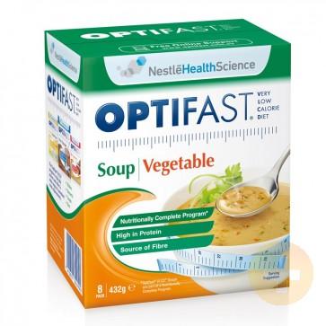Optifast Weightloss Vegetable Soup Powder 8 x 54g