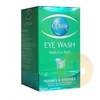 Optrex Eye Wash With Eye Bath 110ml