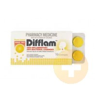 Difflam Lozenges Lemon/Honey Sugar Free 16