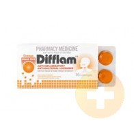 Difflam Lozenges Orange Sugar Free 16
