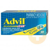 Advil Liquid Capsules 40