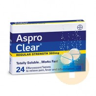 Aspro Clear 300mg 24s