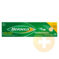 Berocca Performance Mango and Orange Effervescent Tablets 15