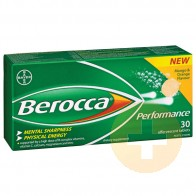 Berocca Performance Mango and Orange Effervescent Tablets 30