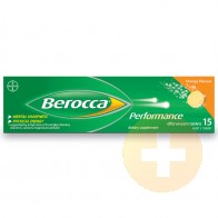 Berocca Performance Orange Effervescent Tablets 15