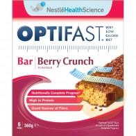 Optifast Weightloss Bar Berry Crunch 6 x 60g