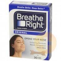 Breathe Right Nasal Strips Large Tan 30
