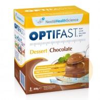 Optifast Weightloss Chocolate Desert Powder 8 x 46g