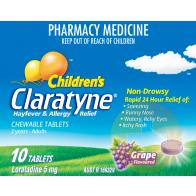 Claratyne Child Chewable Tablets 10