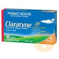 Claratyne Tablets 30