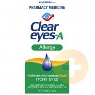Clear Eyes Allergy Eye Drops 15ml