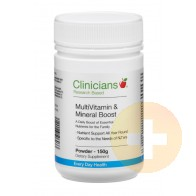 Clinicians Vitamin and Mineral Boost Powder 150g