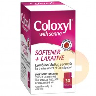 Coloxyl & Senna Tablets 30