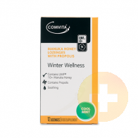 Comvita Winter Wellness Lozenges Cool Mint 12