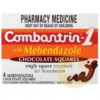 Combantrin-1 Chocolate Squares 4