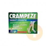 Crampeze Night Cramps Capsules 30