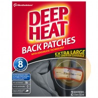 Deep Heat Odourless Back Patches