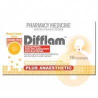 Difflam Honey & Lemon Anaesthetic Lozenge 16