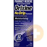 Drixine No Drip Moisturising Nasal Spray 15ml