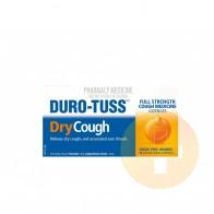 Duro-Tuss Dry Cough Lozenges 24 Orange