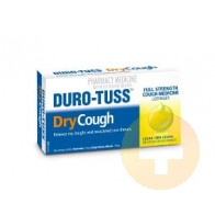 Duro-Tuss Dry Cough Lozenges Lemon 24