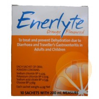 Enerlyte Sachets 10 Orange Flavour