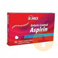 Ethics Enteric-Coated Aspirin 100mg Tablets 90