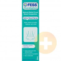 Fess Eucalyptus Saline Nasal Spray 30ml