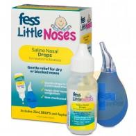 Fess Little Noses Nasal Aspirator & Saline Drops 25ml