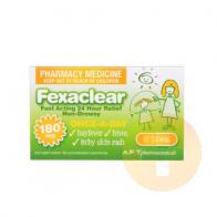 Fexaclear 180mg Tablets 10