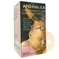 Folic Acid Tablets 0.8mg 120